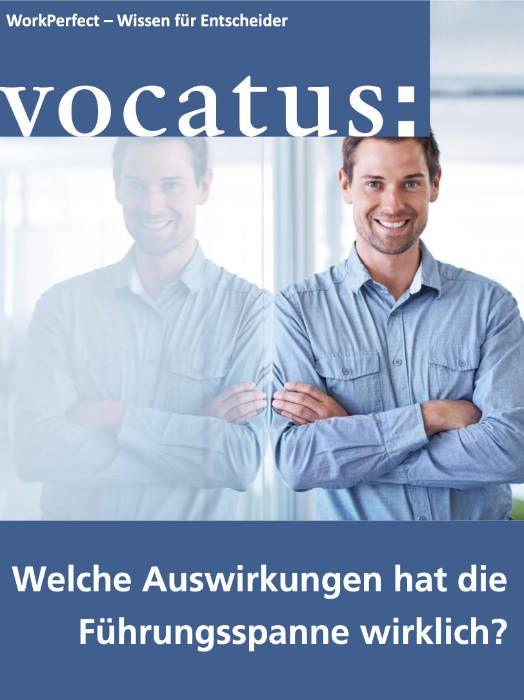 Medien Vocatus WordPerfect GmbH München: Welche Auswirkungen hat die Führungsspanne wirklich? Mitarbeiterbefragung